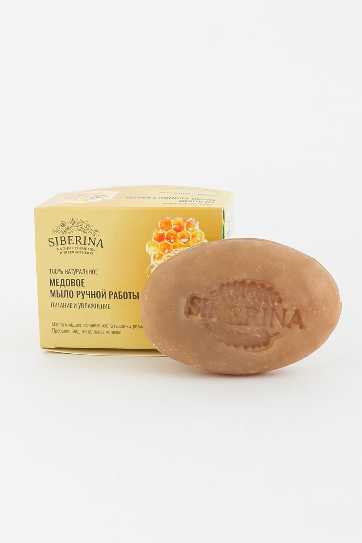 """SIBERINA Натуральное мыло """"Медовое"""", 90 гр."""