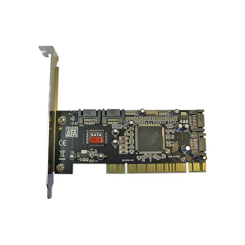 FG-SA3114-4IR-01-CT01, Контроллер PCI to 4 port SATA ,RAID (0, 1, 0+1), чип Silicon Image Si3114, Espada