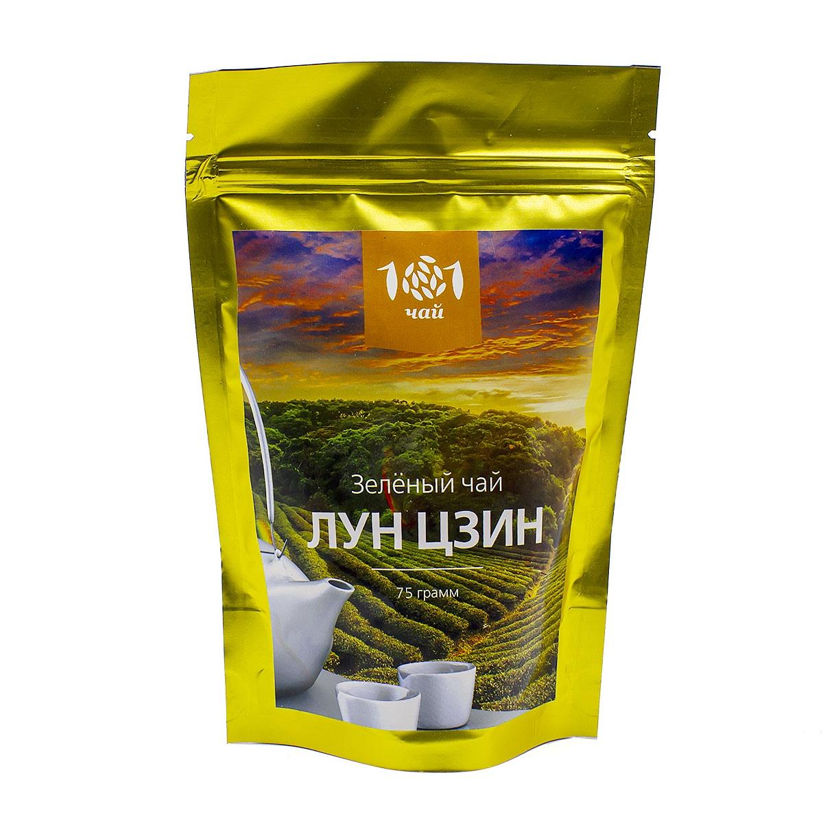Чай зеленый Лун Цзин №2, 75 г цена и фото