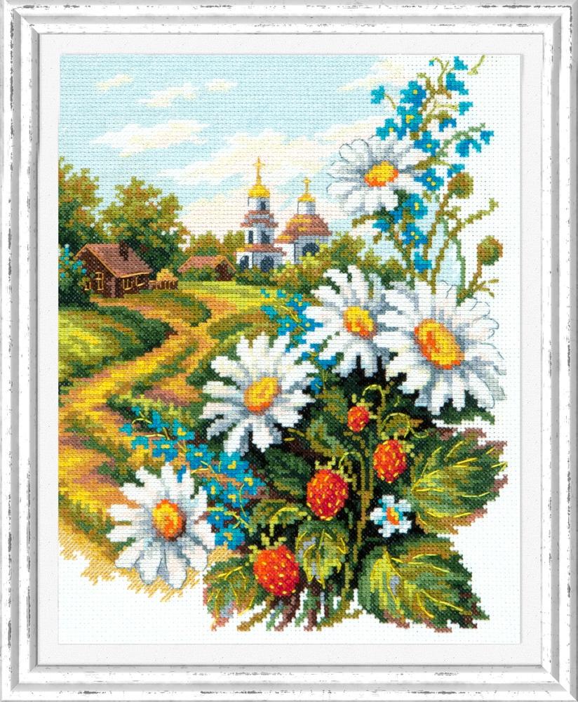 Милые сердцу. Набор для вышивания крестом (Чудесная игла) 20 х 26 см. набор для вышивания крестом чудесная игла яркое сияние 8 х 11 см