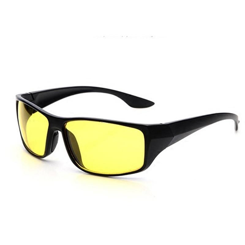 Очки для вождения мужская элитного ночного видения вождения uv400 поляризованные очки очки авиатора