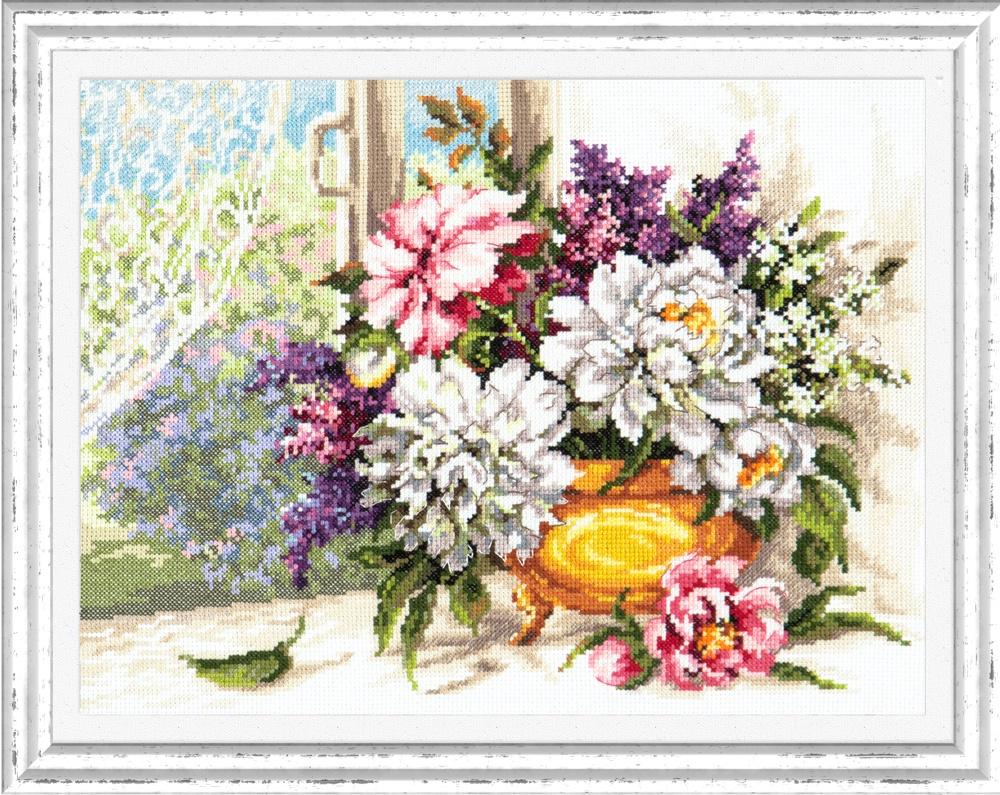 От любимого. Набор для вышивания крестом (Чудесная игла) 35 х 26 см. набор для вышивания крестом чудесная игла цветочный чай 35 х 40 см