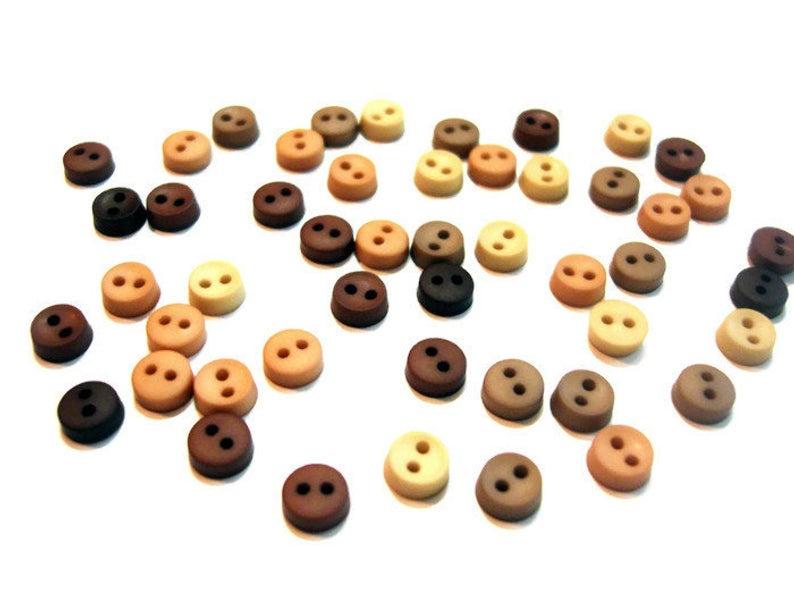 Пуговицы Jesse James - Tiny natural buttons