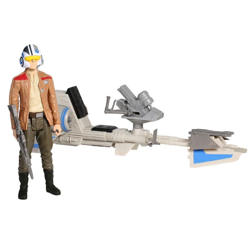 "Star Wars Набор Титаны ""Герои Звездных войн"" с транспортным средством Speeder Bike (Hasbro B3918)"
