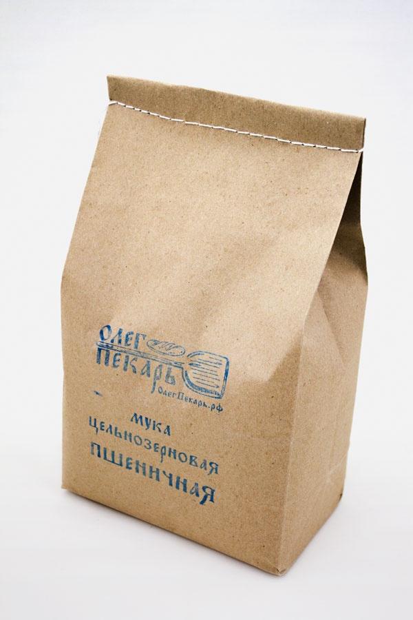 Мука цельнозерновая пшеничная. Из органической Шугуровской пшеницы, 2 кг пудовъ мука пшеничная обойная цельнозерновая 1 кг