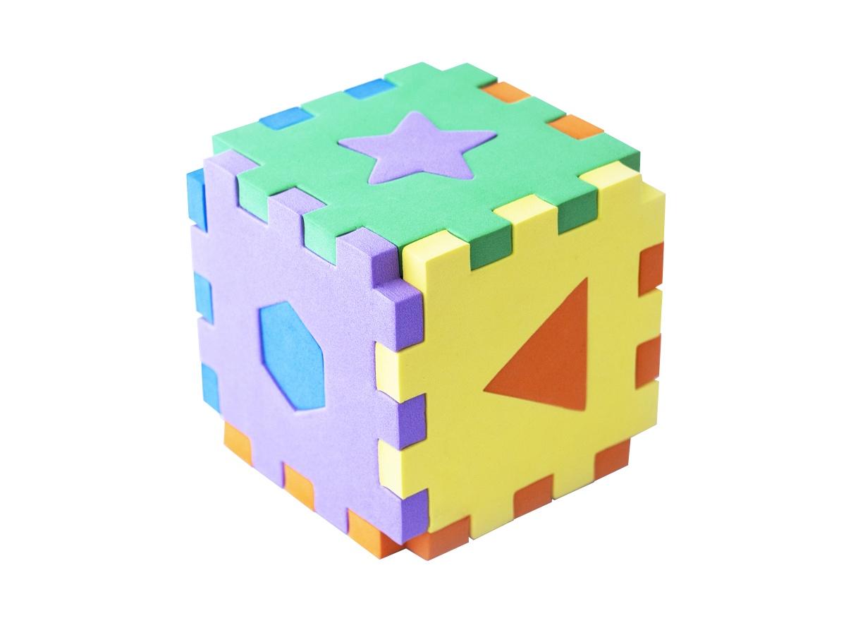 Кубик сортер: первые знания stellar развивающая игра сортер логический кубик 01314