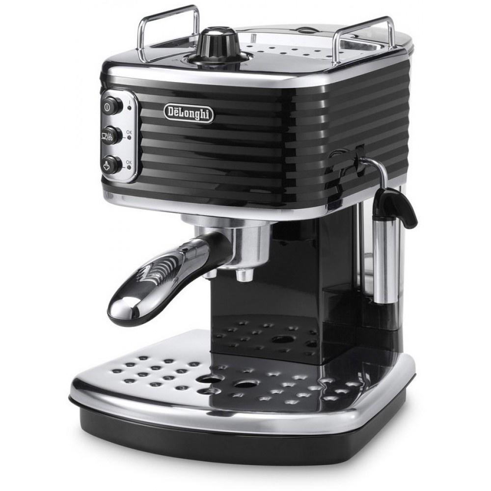 Рожковая кофеварка Delonghi Scultura ECZ 351.BK цена