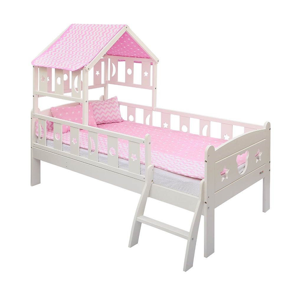 Кровать Giovanni Dommy White PINK 160*80см кровать подростковая 160x80см giovanni dommy white blue