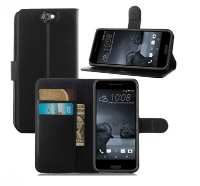 Чехол-книжка MyPads для HTC One A9/HTC Aero/HTC A9w 5.0 с мульти-подставкой застёжкой и визитницей черный все цены
