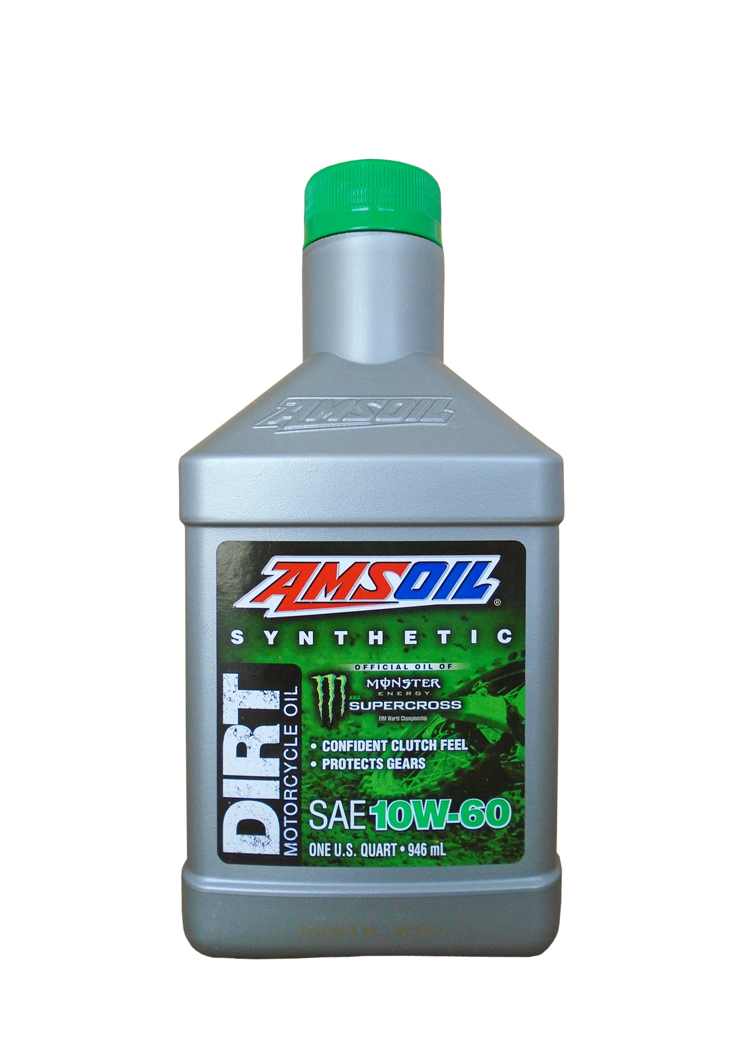 Мотоциклетное масло AMSOIL Synthetic Dirt Bike Oil SAE 10W-60 (0,946л)