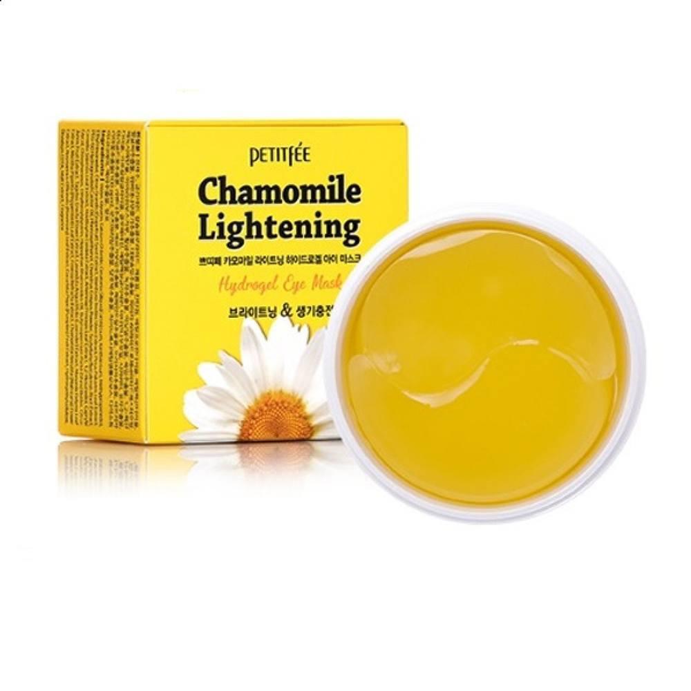 Патчи Petitfee Chamomile Lightening Hydrogel Eye Mask, 60 шт.