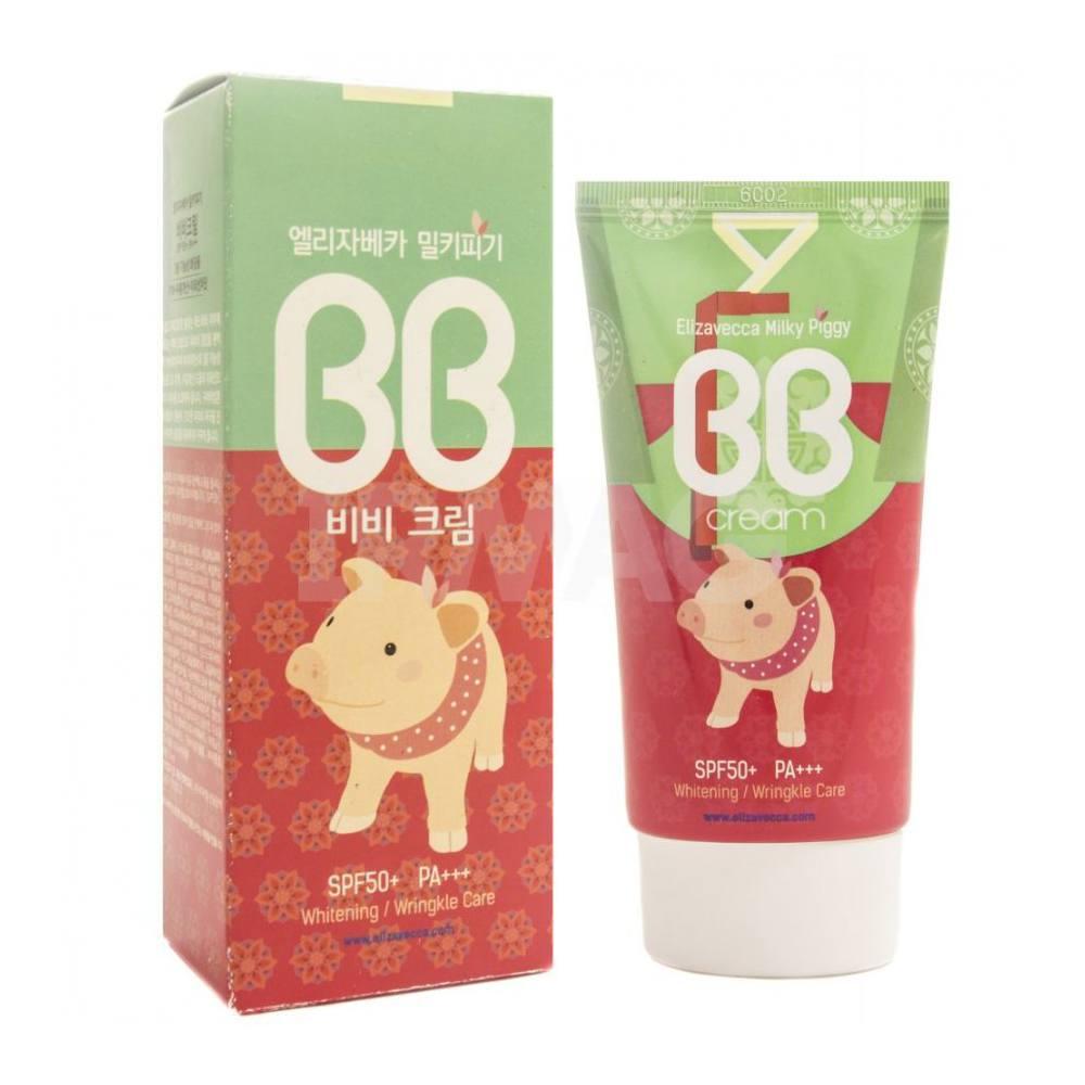 Крем для ухода за кожей Elizavecca Milky Piggy BB Cream SPF50+ PA+++ все цены