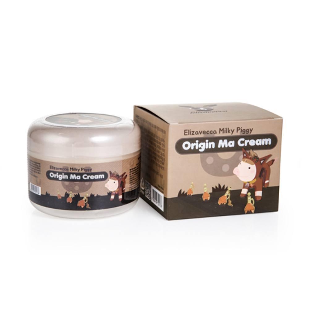 Elizavecca крем для лица с лошадиным жиром Milky Piggy Origine Ma Cream, 100 мл.