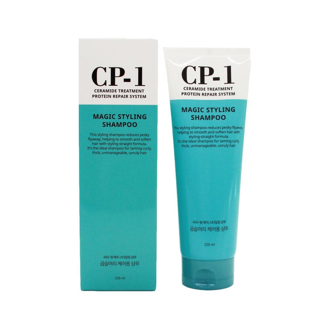 Esthetic House шампунь для волос непослушных CP-1 Magic Styling Shampoo, 250 мл. для волос желток или белок
