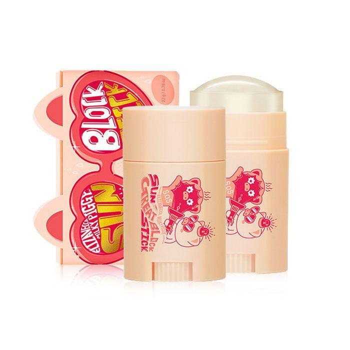 Elizaveccaсолнцезащитный стик для кожи Milky Piggy Sun Great Block Stick SPF 50+, 22 гр.  Elizavecca