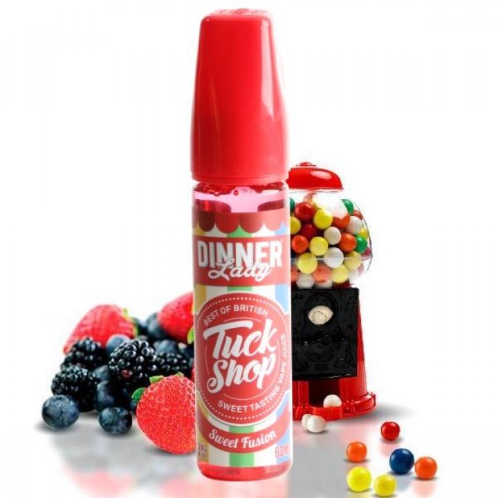 Dinner Lady Tuck Shop Sweet Fusion Жидкость для вейпа жидкость для заправки электронных сигарет eleaf клубника 3 mg 20 мл