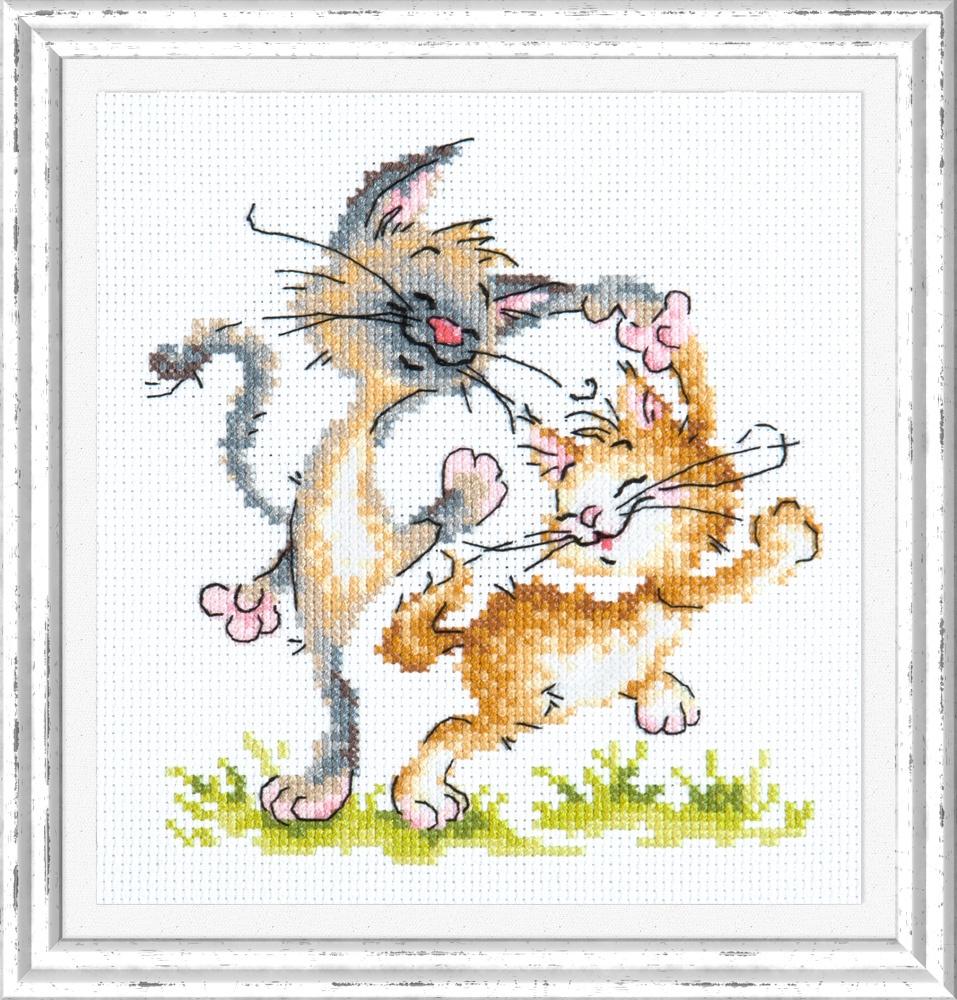 Танцуют все!. Набор для вышивания крестом (Чудесная игла) 15 х 16 см. набор для вышивания крестом чудесная игла яркое сияние 8 х 11 см