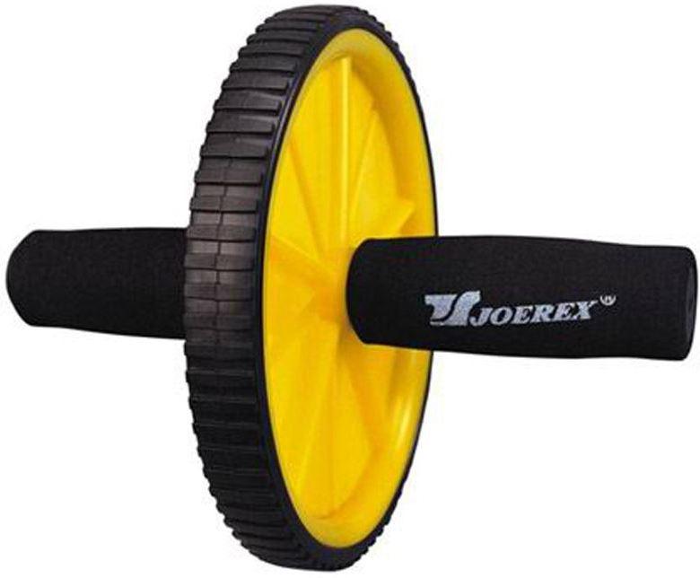 все цены на Ролик гимнастический Joerex 7896, 1 колесо онлайн