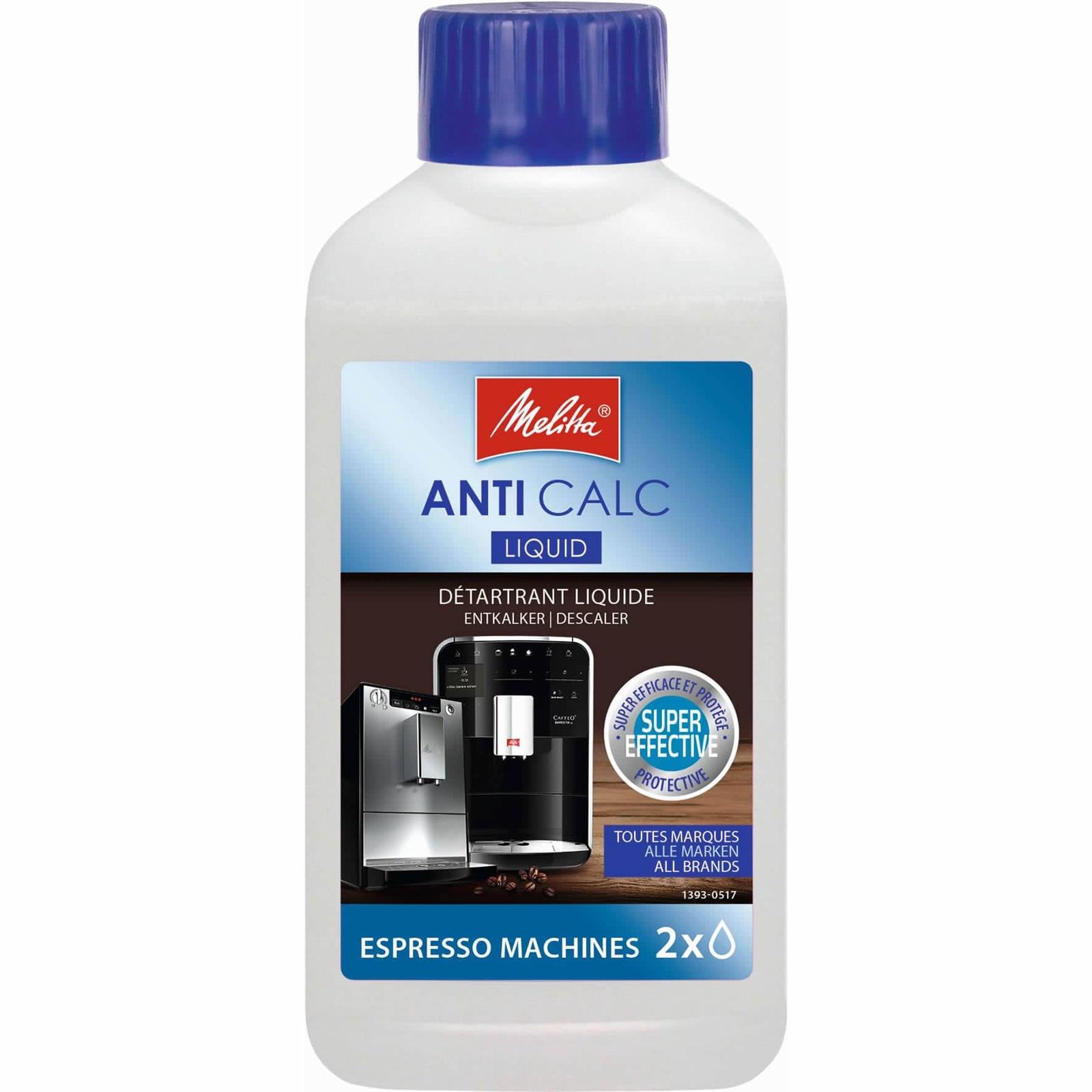 Очиститель от накипи для кофемашин Melitta Anti Calc, жидкий, 250мл