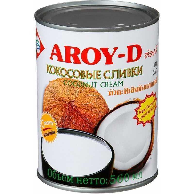 Cливки Aroy-D кокосовые, 560мл