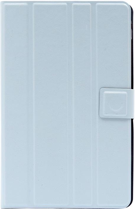 Чехол для планшета Premium uni / silicone straps с экраном от 7' до 8' белый GOSSO CASES