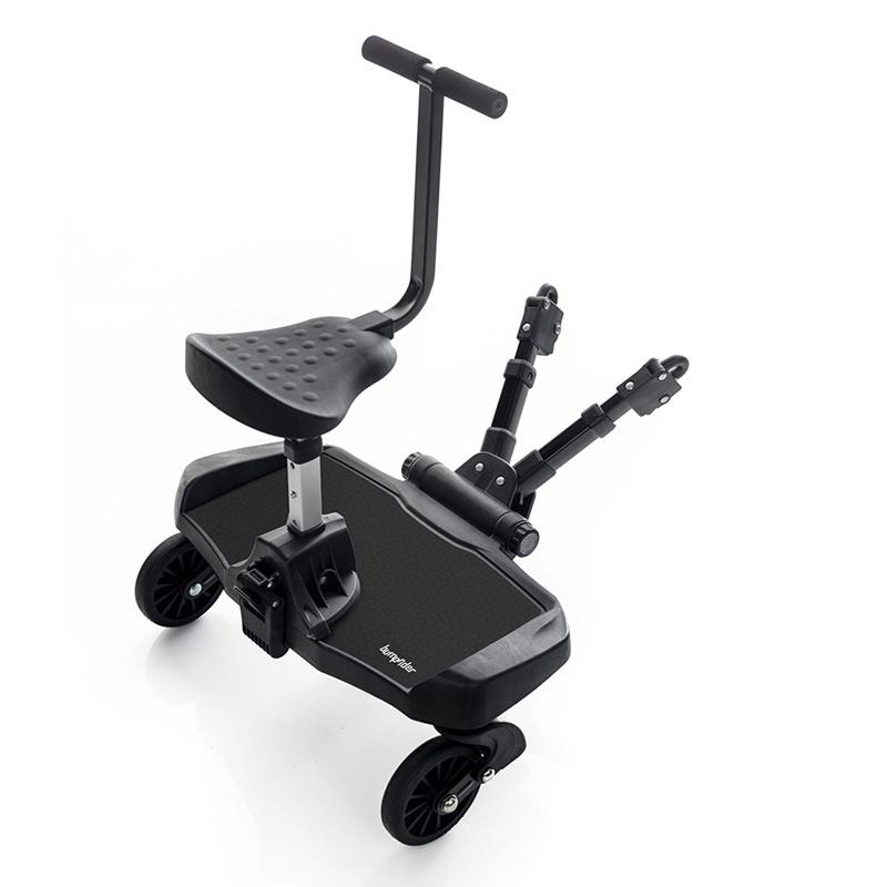 Bumprider подножка для второго ребенка с сиденьем Black аксессуары для колясок litaf подножка для второго ребенка e z step