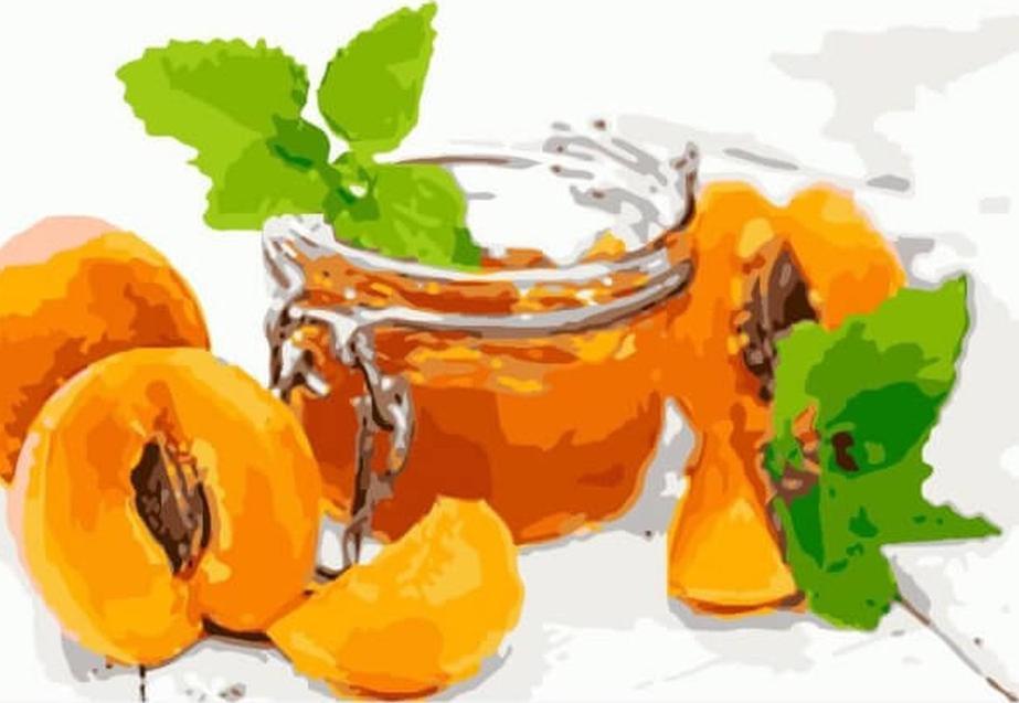 Картина по номерам Цветной Абрикосовое варенье 20х30см александр солженицын эго абрикосовое варенье все равно адлиг швенкиттен