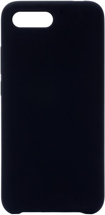 Чехол силиконовый Soft Touch Premium для Huawei Honor 10 черный