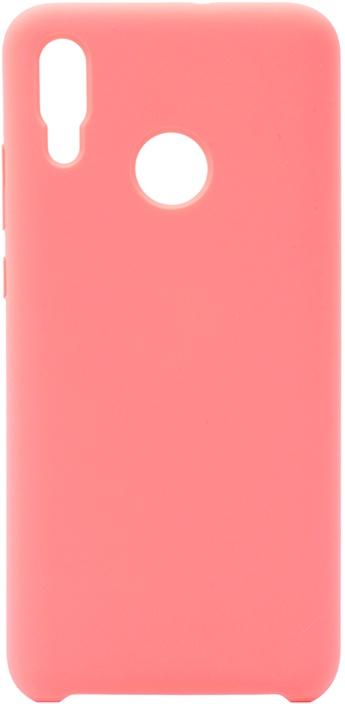 Чехол силиконовый Soft Touch Premium для Huawei P Smart (2019) / Honor 10 Lite розовый