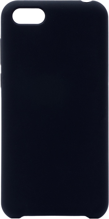 Чехол силиконовый Soft Touch Premium для Huawei Honor 7A / Y5 Prime 2018 / Y5 Lite 2018 черный GOSSO CASES