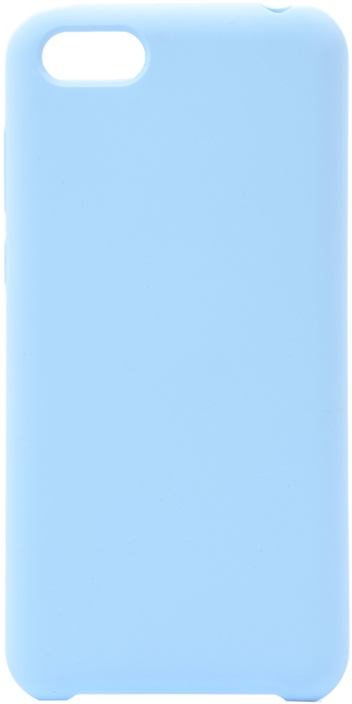 Чехол силиконовый Soft Touch Premium для Huawei Honor 7A / Y5 Prime 2018 / Y5 Lite 2018 голубой