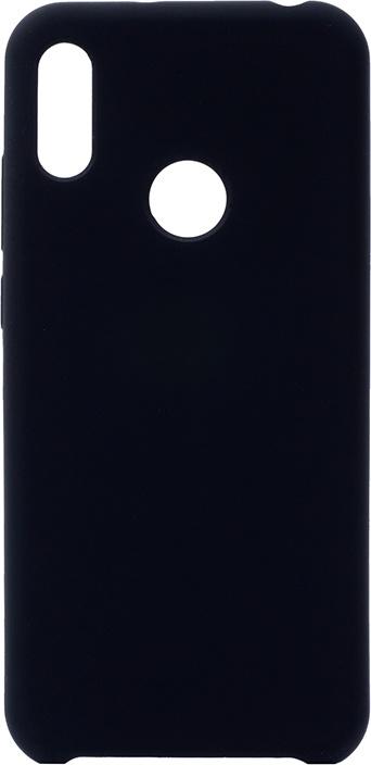 Чехол силиконовый Soft Touch Premium для Huawei Y6 (2019) / Honor 8A черный