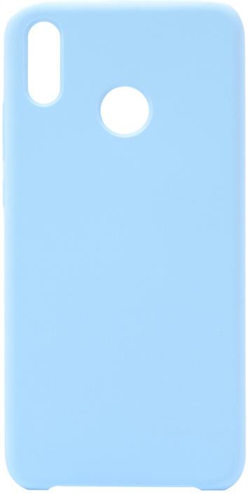 Чехол силиконовый Gosso Cases Soft Touch Premium для Huawei Honor 8X голубой