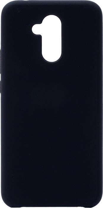 Чехол силиконовый Soft Touch Premium для Huawei Mate 20 Lite черный GOSSO CASES