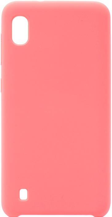 Чехол силиконовый Soft Touch Premium для Samsung Galaxy A10 розовый