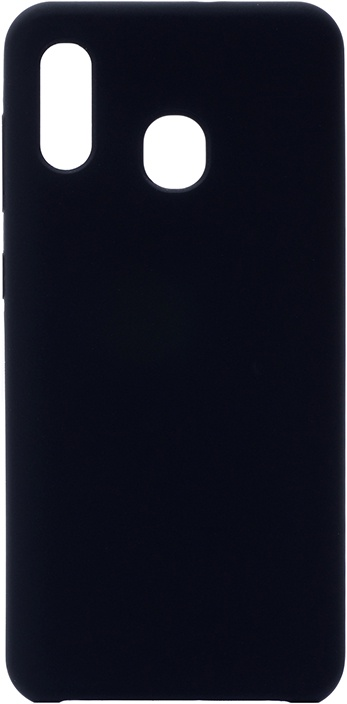 Чехол силиконовый Soft Touch Premium для Samsung Galaxy A20 / A30 черный
