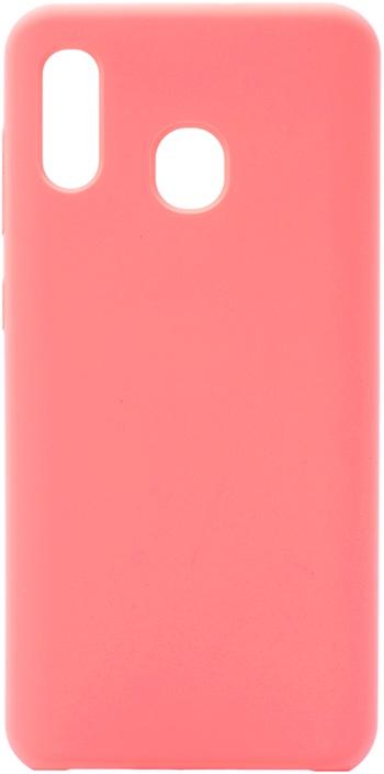 Чехол силиконовый Soft Touch Premium для Samsung Galaxy A20 / A30 розовый GOSSO CASES