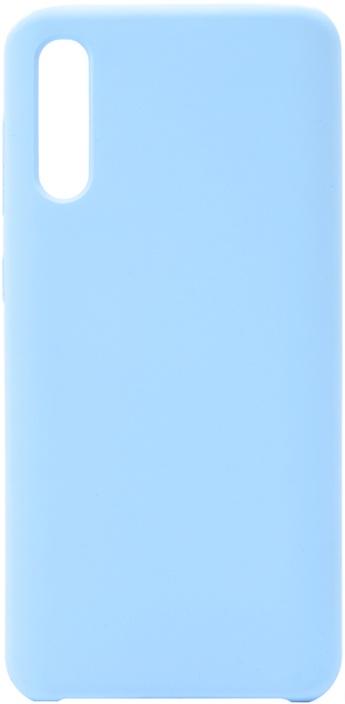 Чехол силиконовый Soft Touch Premium для Samsung Galaxy A50 голубой
