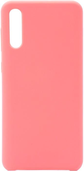 Чехол силиконовый Soft Touch Premium для Samsung Galaxy A50 розовый
