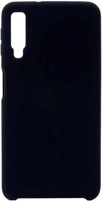 Чехол силиконовый Gosso Cases Soft Touch Premium для Samsung Galaxy A7 2018 черный