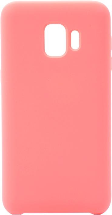 Чехол силиконовый Soft Touch Premium для Samsung Galaxy J2 Core розовый GOSSO CASES