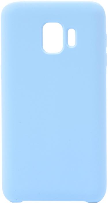 Чехол силиконовый Soft Touch Premium для Samsung Galaxy J2 Core голубой GOSSO CASES