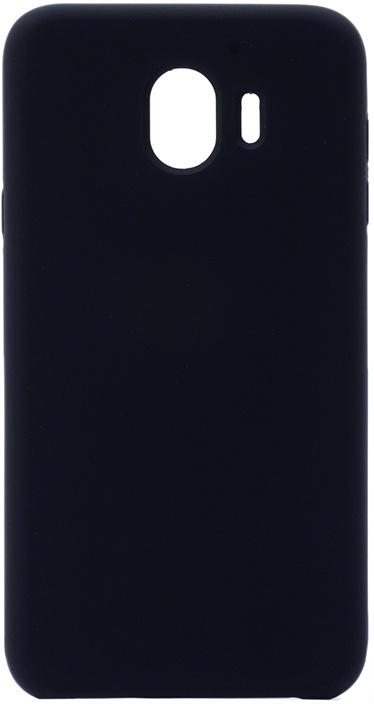 Чехол силиконовый Soft Touch Premium для Samsung Galaxy J4 2018 черный GOSSO CASES