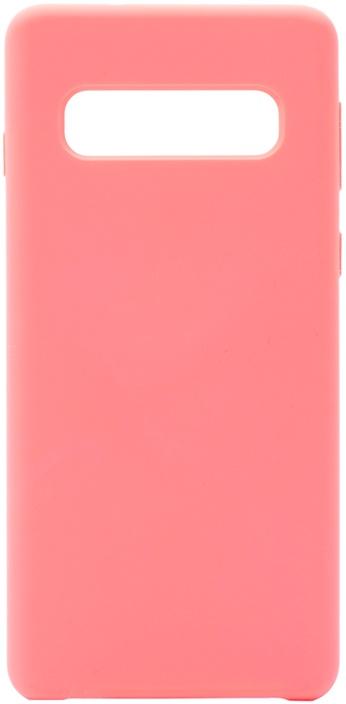 Чехол силиконовый Gosso Cases Soft Touch Premium для Samsung Galaxy S10 розовый