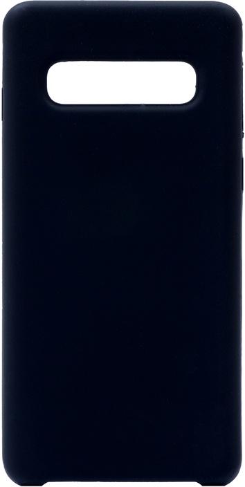 Чехол силиконовый Gosso Cases Soft Touch Premium для Samsung Galaxy S10 черный