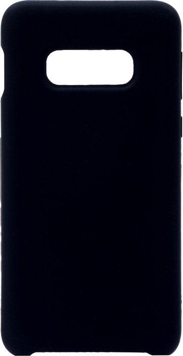 Чехол силиконовый Soft Touch Premium для Samsung Galaxy S10e черный