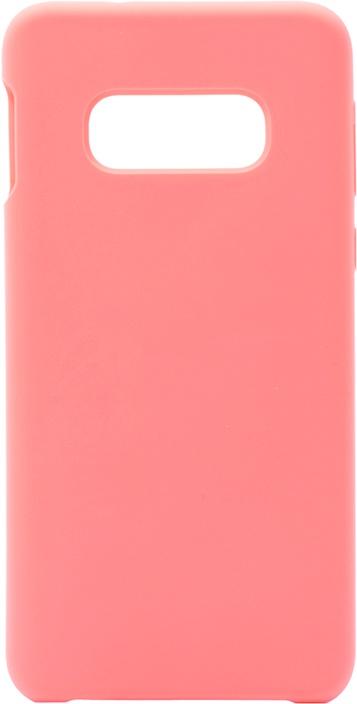 Чехол силиконовый Soft Touch Premium для Samsung Galaxy S10e розовый