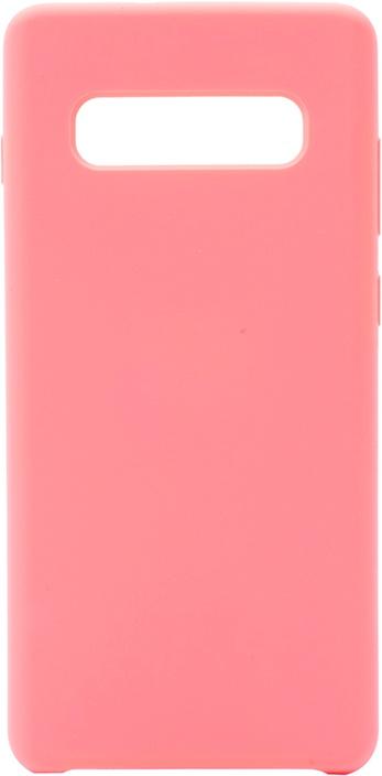 Чехол силиконовый Soft Touch Premium для Samsung Galaxy S10+ розовый