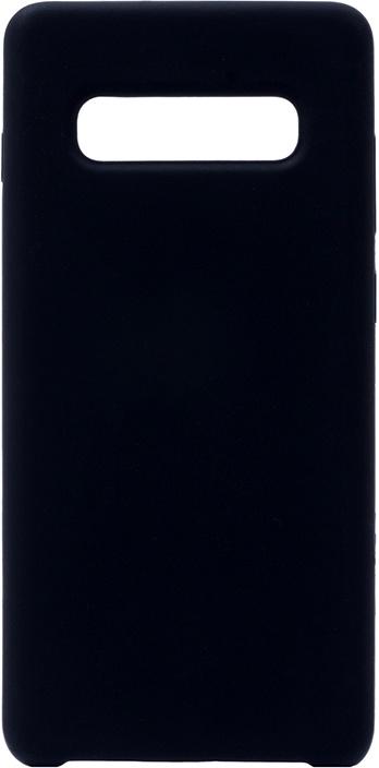 Чехол силиконовый Soft Touch Premium для Samsung Galaxy S10 Plus черный GOSSO CASES