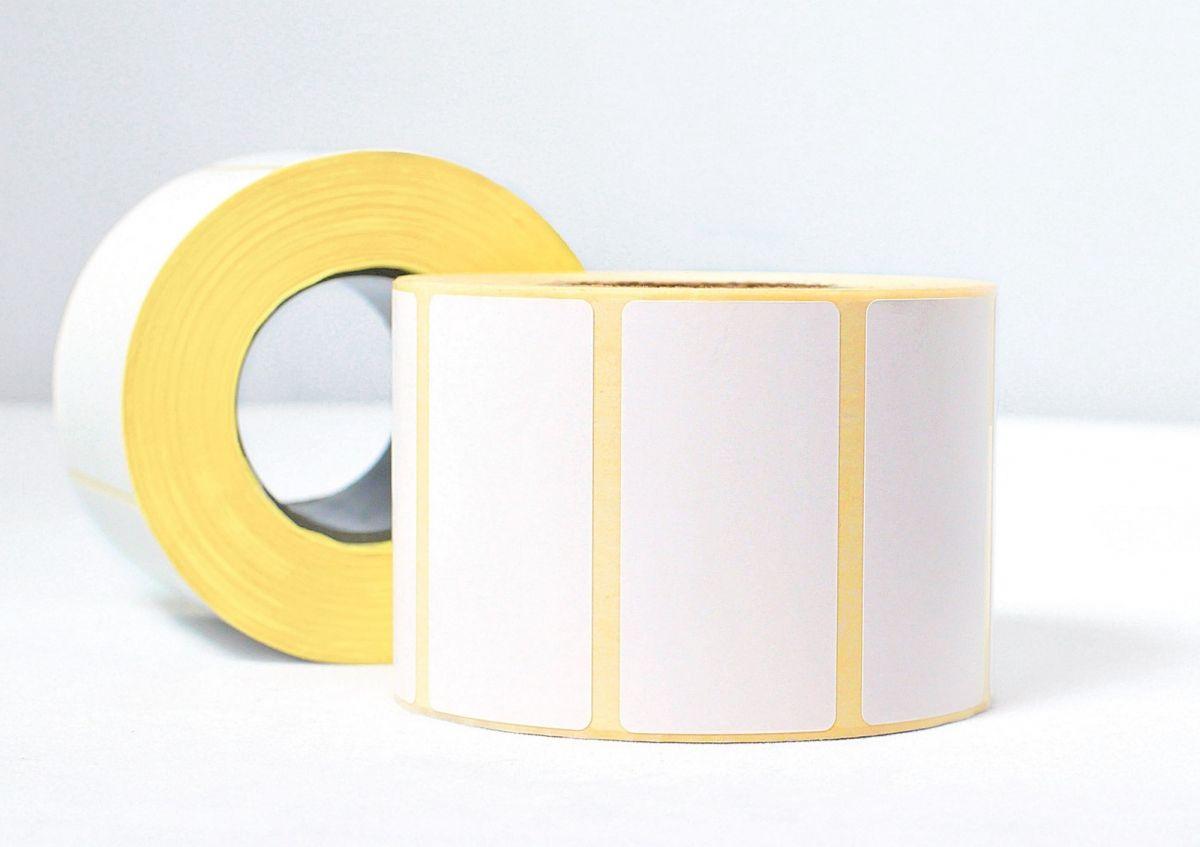 Упаковка самоклеяющихся этикеток Lux-Paper 58 мм, 58х40x40, 550 шт. (50 рулонов) ТермоТОП без препринта